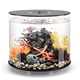 biOrb Tube 35 Aquarium with MCR - 9.2 Gallon, Black