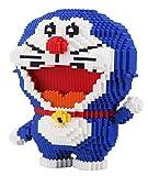 Zenghh Ladrillos Mini Toy Building Blocks Thor clásico Doraemon aficionados muñeca 3D Diamond Stitich Montaje de empalme modelo en miniatura de gran tamaño 31cm DIY juguetes educativos Puzzle Game