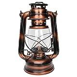 Surebuy Lampade a Cherosene, Lampade Ad Olio Antiche Ornamentali, Lanterne per Tende da Es...