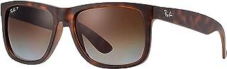 RB Justin Sunglasses (55 mm, Matte Tortoise Frame...
