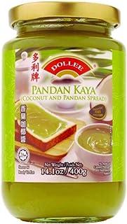 Pandan Kaya (Coconut and Pandan Spread) - 400g (Pack of 1)