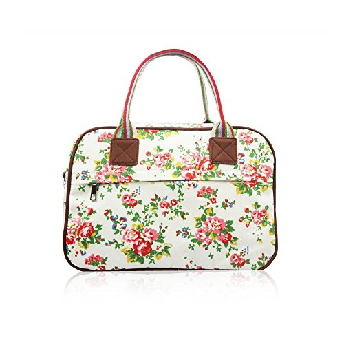HB Style , Damen Bowlingtasche Mehrfarbig mehrfarbig, Weiß