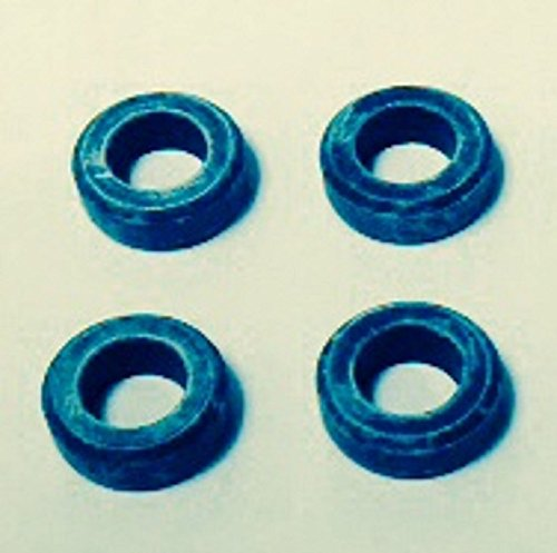 Genuine Mitsubishi Fuel Injector Lower Seal (Insulator) Kit MD087060 (4x) Fits Many 4 Cylinder Engines 1990-2012 Lancer Eclipse Galant Expo Mirage Pick Up Van/Wagon