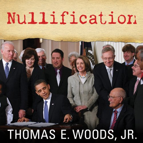 Nullification audiobook cover art