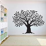 yaonuli Adesivo murale Albero Camera da Letto radice dell'albero della Vita Decorazione della casa Adesivo da Parete in Vinile 102x75cm