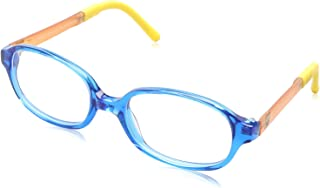 Sponge Bob Rectangular Lens Contrasting Plastic Medical Glasses for Kids - Blue & Yellow