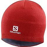 SALOMON(サロモン) スキー スノーボード ニット帽 2020-21年モデル SALOMON BEANIE(サロモン ビーニー) LC1424300 Free Goji Berry