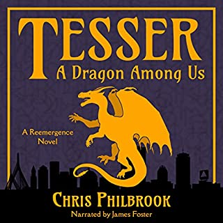 Tesser: A Dragon Among Us cover art