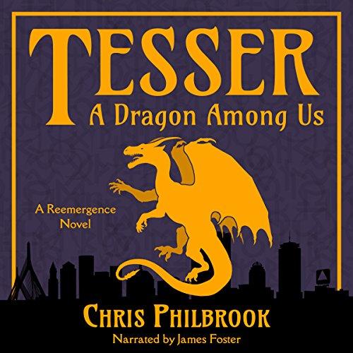 Tesser: A Dragon Among Us audiobook cover art