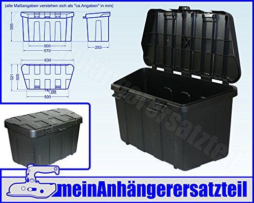 Staukasten Profibox PLUS Staubox Werkzeugbox für V Deichsel Pkw Anhänger