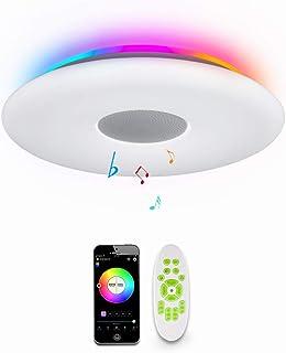 comprar comparacion OFFDARKS LED Lámpara de techo,compatible con Amzon Alexa+Google Assistantpara,sala de estar, dormitorio, sala de niños,alt...