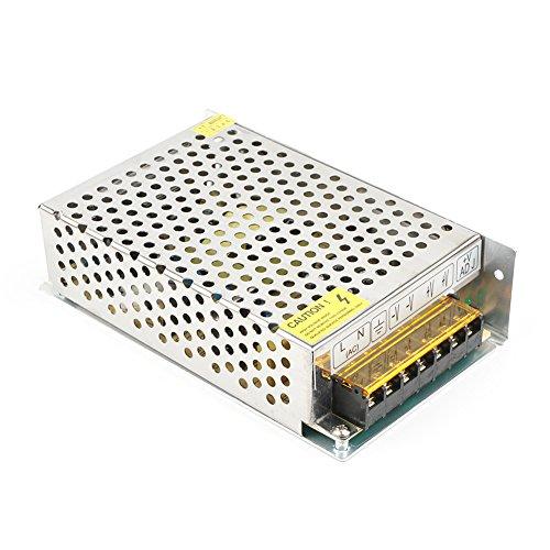 5V 20A Transformator Adapter Netzteil,100W Schaltnetzteil Stromversorgung für LED Streifen,Projekt Sicherheit Computersystem