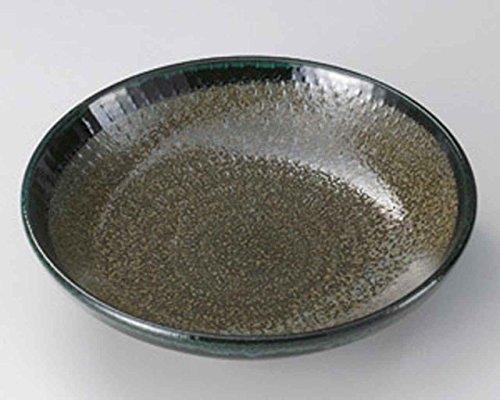 Green Belt 22.5cm Teigwaren-Schüssel Grey porcelain Japanisch traditionell