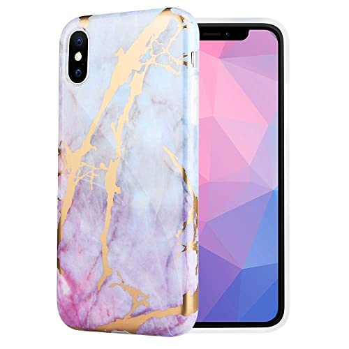 1746aedb7 Caka Marble Case Compatible for iPhone Xs Max