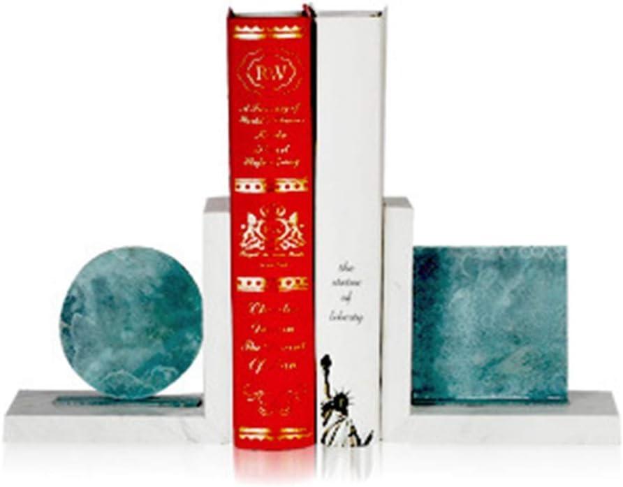 Classic YYONGAO Marble Geometric Creative Modeling Ranking TOP16 Magazine Bookend Rack