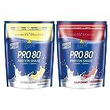 Inko Active Pro 80 Beutel 2er Mix Pack (2x500g) Citrus-Quark/Sauerkirsch