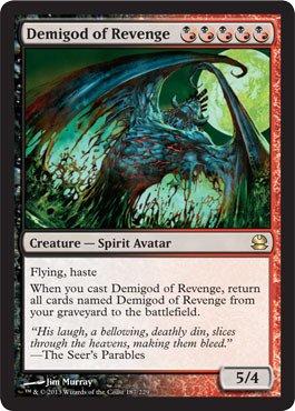 Magic The Gathering - Demigod of Revenge - Modern Masters