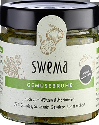 """SweMa Frische Gemüsebrühe """"SweMa"""" mit 73% rohem Gemüse (210 g) - Bio"""