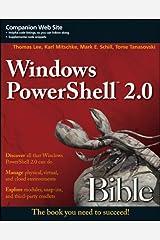 Windows PowerShell 2.0 Bible Kindle Edition