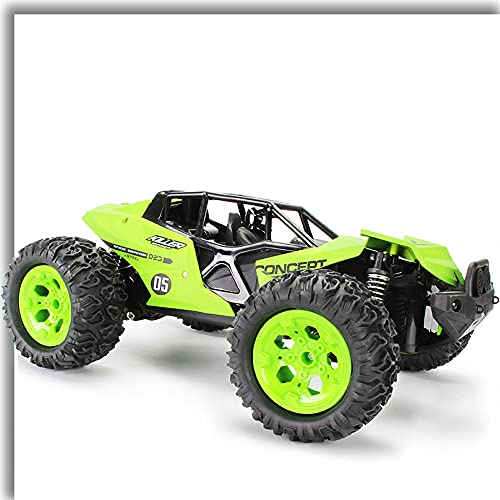 ZDYHBFE Coche mecánico súper grande Coche de rally 1:12 Coche de juguete de carga inalámbrica Niño Niño Coche de control remoto Columpio Escalada Monster Buggy Neumático Amortiguador Batería potente C