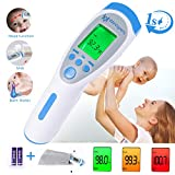 Forehead Thermometer, Digital Thermometer Non Contact Medical Infrared...