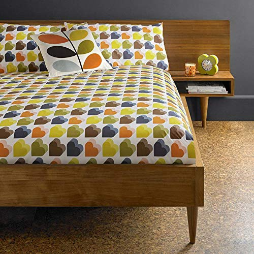 Orla Kiely Love Hearts Duvet Cover (SIngle)