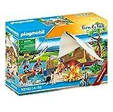 PLAYMOBIL Familia en Viajes de Camping, 70743