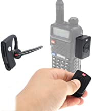 Wireless Handsfree Walkie Talkie Bluetooth PTT earpirce +K Adapter for BF UV-5R UV-82 Radio Motor Bike