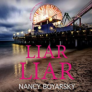 Liar Liar: A Nicole Graves Mystery     Nicole Graves Mysteries, Book 3              By:                                                                                                                                 Nancy Boyarsky                               Narrated by:                                                                                                                                 Jane Oppenheimer                      Length: 7 hrs and 16 mins     5 ratings     Overall 4.2