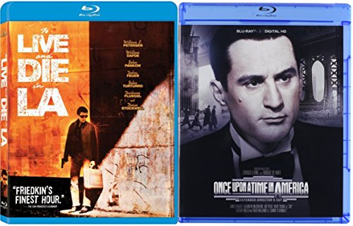 Once Upon A Time In America & To Live and Die in L.A. [Blu-ray] 2 Pack Crime Movie Set (Once Upon A Time In America Awards)
