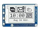 Anauto [電子ペーパーモジュール] Raspberry Piラズベリーパイ/A-rduino用 2.7インチ電子ペーパー 264x176解像度 HAT E-Inkモジュールインク表示モジュールボード Raspberry2B / 3B / Zero/Zero W対応