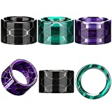 Drip Tips Replacement Resin Drip Tip Connector Cover Honeycomb Standard Drip Tip for Coffee Machine Favors Ice Maker(Black, Blue, Green, 3 Pieces )