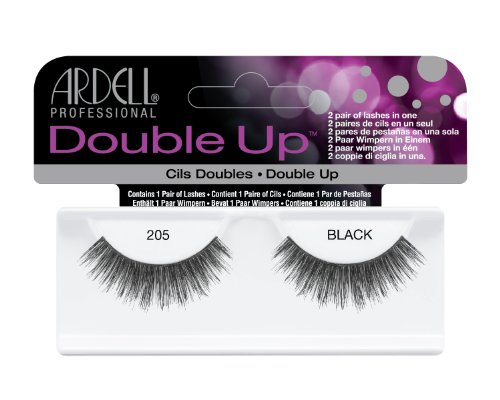 Ardell Double Up Lash 205 black, 1 paar