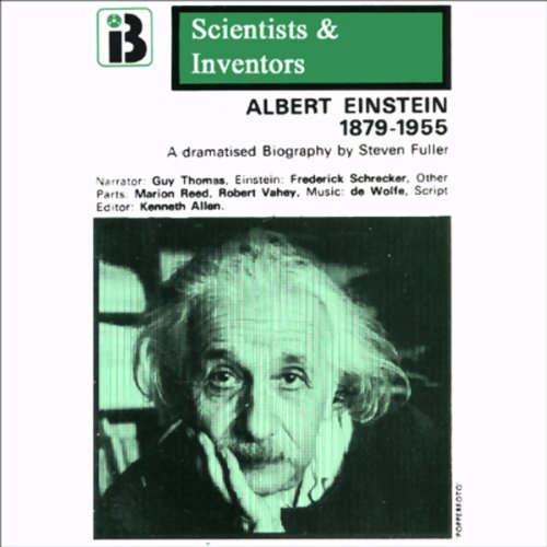 Albert Einstein audiobook cover art