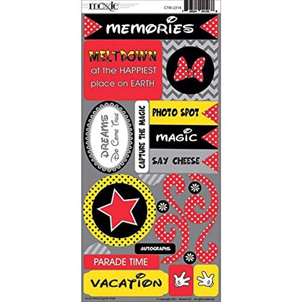 Moxxie CTM-2314 Capture The Magic Cardstock Stickers, Multicolor