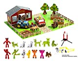 Zing Stikbot Movie Set Deluxe - Farm Action Figure