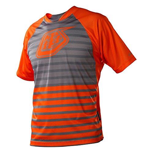 Troy Lee Designs Skyline - Maillot de Ciclismo para Hombre, Color Naranja,...