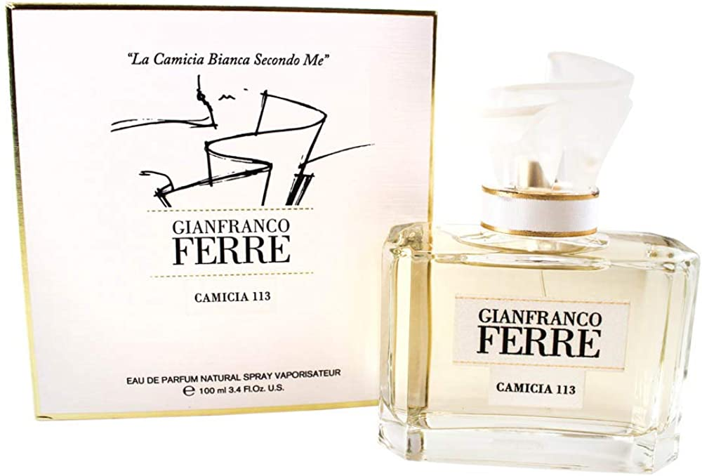 Gianfranco ferrè camicia 113, eau de parfum,profumo per donna,100 ml 8011530040031