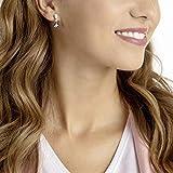 Zoom IMG-2 Vintage Pierced Earrings Blue Rhodium