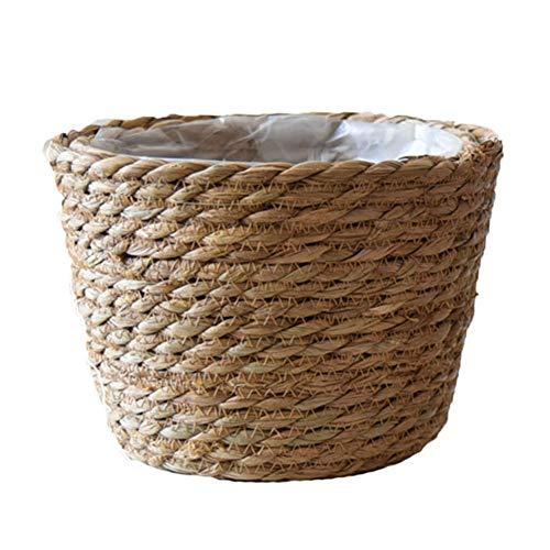 Maceta tejida a mano para macetas de jardín y plantas suculentas pequeñas
