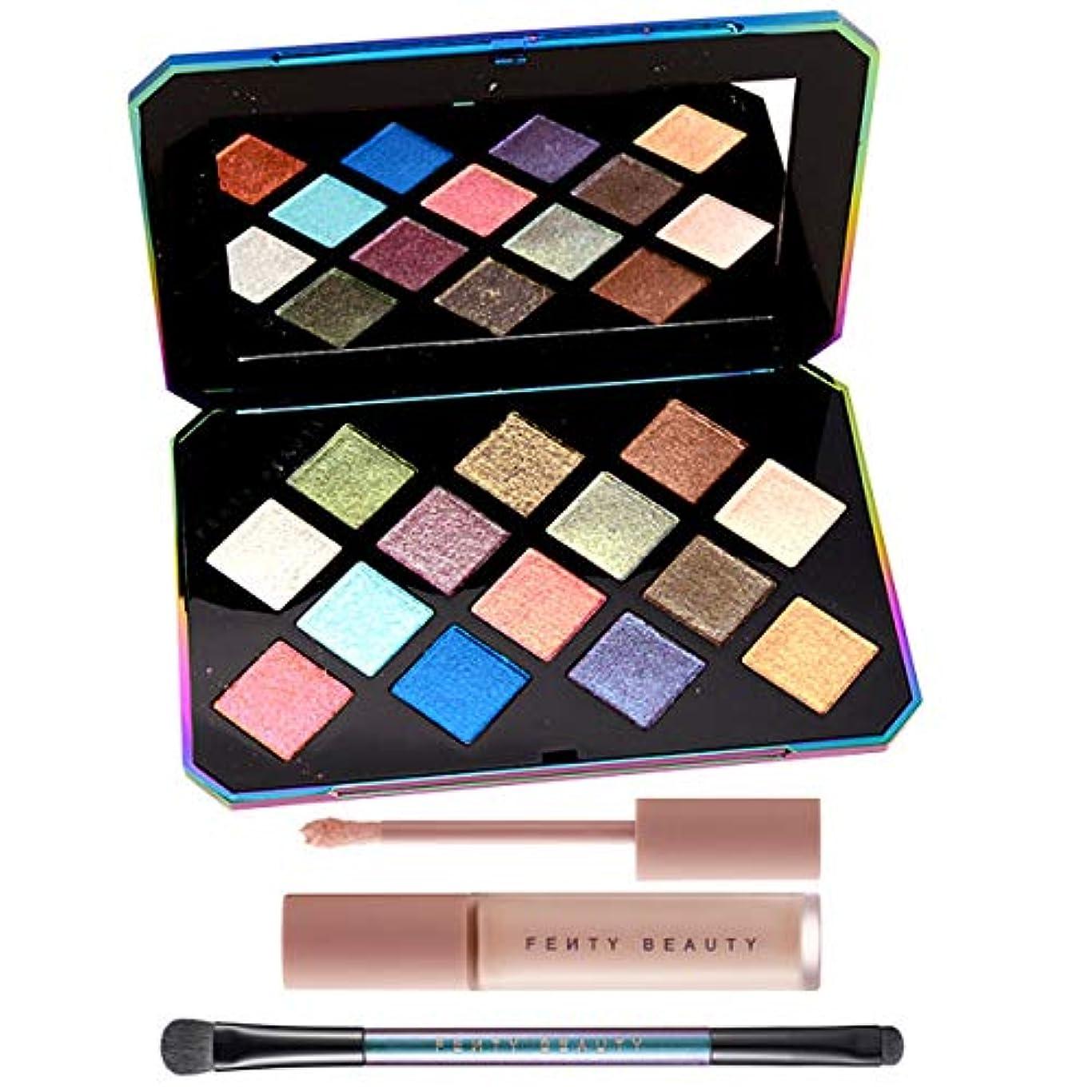 松の木無線混乱FENTY BEAUTY BY RIHANNA, GALAXY Eyeshadow Palette & Eye Essentials [海外直送品] [並行輸入品]
