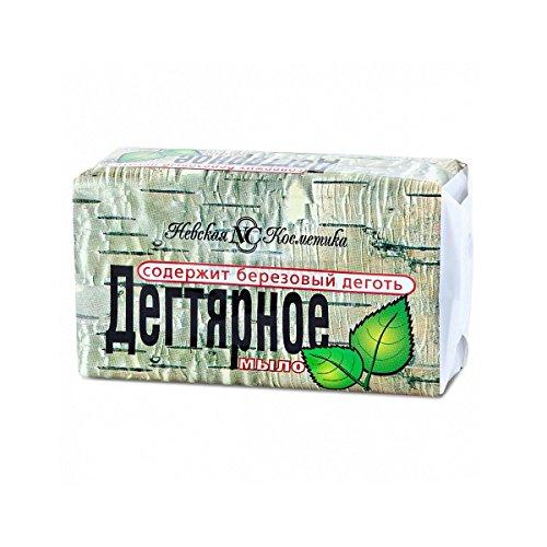 Teer Seife (Birkenteer) Birkenseife aus Russland