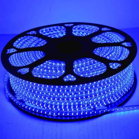 Radiato ES LED Strip Rope Light,Water Proof,(Home Decoration,Festive Lights,Diwali Lights, led Lights) with Adapter. (Blue, 5 Meter)