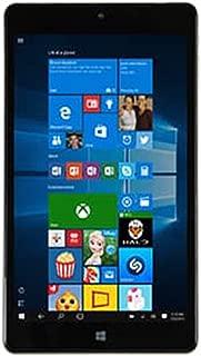 Premium Top Performance NuVision 8-inch Full HD 1920 x 1200 IPS Touchscreen Tablet PC Intel 1.44 GHz Atom x5-Z8300 Quad-Core Processor 2GB RAM 32GB eMMC SSD Webcam WIFI Windows 10-Silver