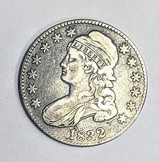 1832 silver half dollar