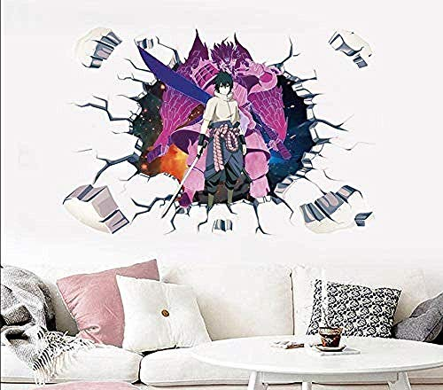 MXLYR Wandtattoo Wall Decal Wallpaper Dorm Bedroom Self-Adhesive 3D Stereo Wall Sticker Wallpaper Anime Poster Decoration Sticker