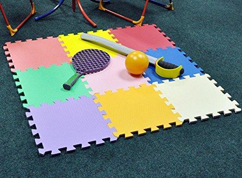 Puzzle/Rompecabezas para cubrir el suelo (9 piezas) - Play Mat Set - M