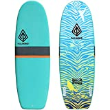 Paragon Surfboards Performance Soft-Top Surfboard | Handshaped, Fun & Easy to Ride | 5'6' | 7'6' | 9'0'