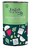 English Tea Shop - Eistee'Summer Crunch' Apfel & Melone, BIO, Dose, 10 Teebeutel (für je 1 Liter)