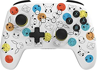 PowerA Enhanced Wireless Controller for Nintendo Switch - Pokemon Expressions - Nintendo Switch